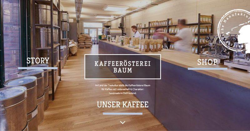 Kaffeerösterei Baum | Kaffee-Manufaktur mit Leidenschaft