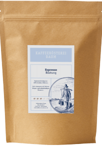 Kaffeerösterei Baum Espresso Röstung