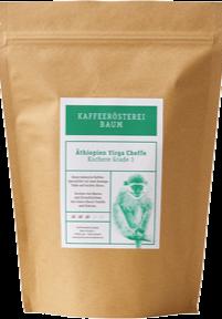 Kaffeerösterei Baum Röstung Äthiopien Yirga Cheffe
