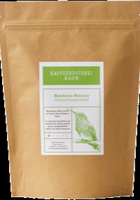 Kaffeerösterei Baum Röstung Honduras Marcala