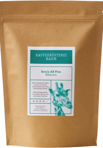 Kaffeerösterei Baum Röstung Kenia AB Plus