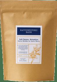Kaffeerösterei Baum Röstung Teyuna Kolumbien
