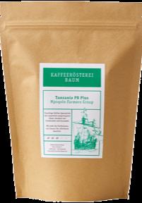 Kaffeerösterei Baum Röstung Tanzania PB Plus
